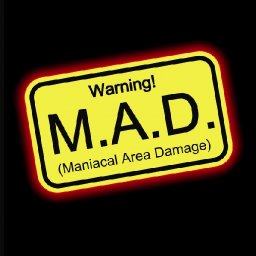 "M.A.D. album ""Warning"" now available in the States!!"