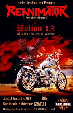 Harley Davidson show
