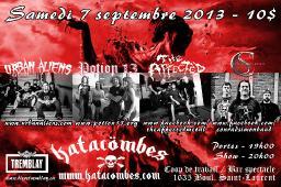 Potion13 at Katacombes